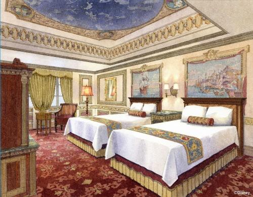 「カピターノ・ミッキー・スーペリアルーム」の客室イメージ