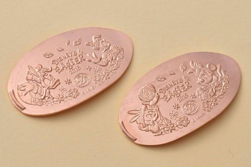 東京ディズニーランドホテル期間限定デザインのスーベニアメダル