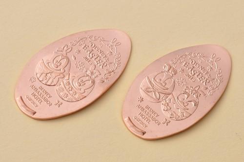 ディズニーアンバサダーホテル期間限定デザインのスーベニアメダル