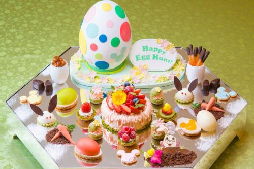 東京ディズニーランドホテル宴会プランのケーキ
